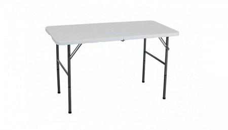 Table pliante 123 x 61 cm