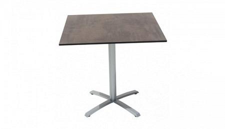 HPL Table de jardin 80 x 80 cm en 2 couleurs