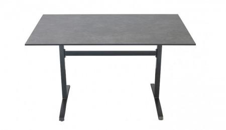 P HPL Table de jardin 80 x 130 cm en 2 couleurs