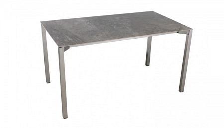 Q Keramik Tisch 140 x 80 cm Gartentisch