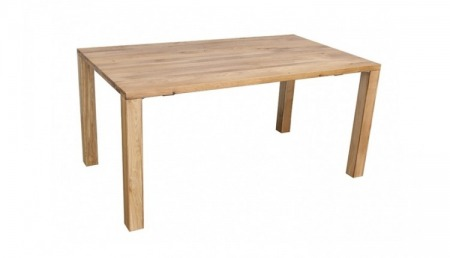 C Table en bois 160 x 90 cm COLORADO, chêne sauvage