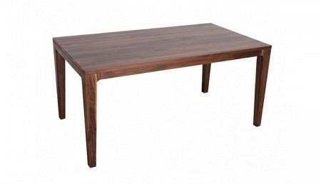 K Holztisch 160 x 90 cm YUKON, Nussbaum, verlängerbar um 95 cm